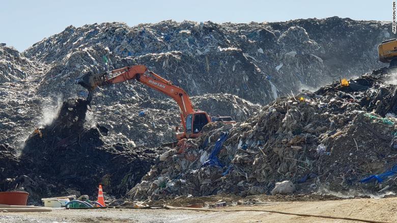 Переработка мусора в южной корее